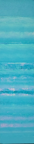 strata 8 : 12x48 in acrylic on canvas