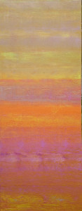 strata 3 : 16x40 in acrylic on canvas