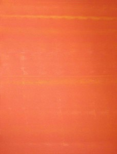 orange 1 : 3x4ft acrylic on canvas